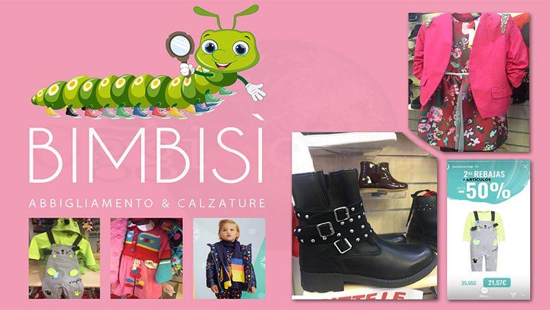 Bimbisì abbigliamento e calzature banbini Olbia