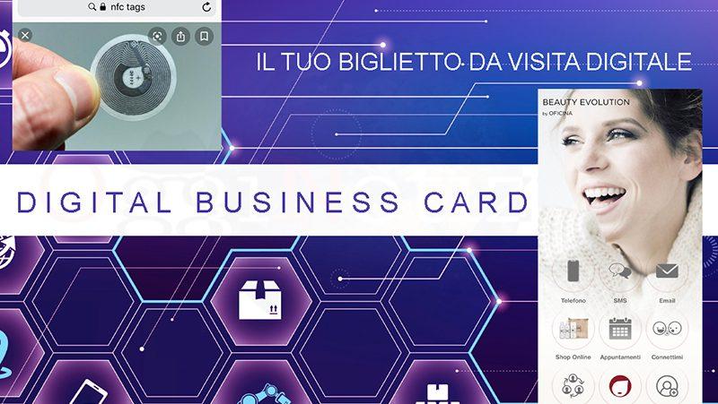 Digital business card Olbia 1