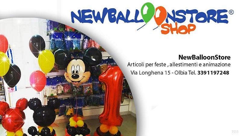 NewBalloonStore Olbia