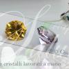 gemme e cristalli lavorati a mano